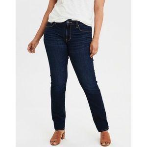 American Eagle Curvy High Rise skinny jeans